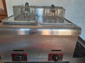 Griller stove and Deep fryer