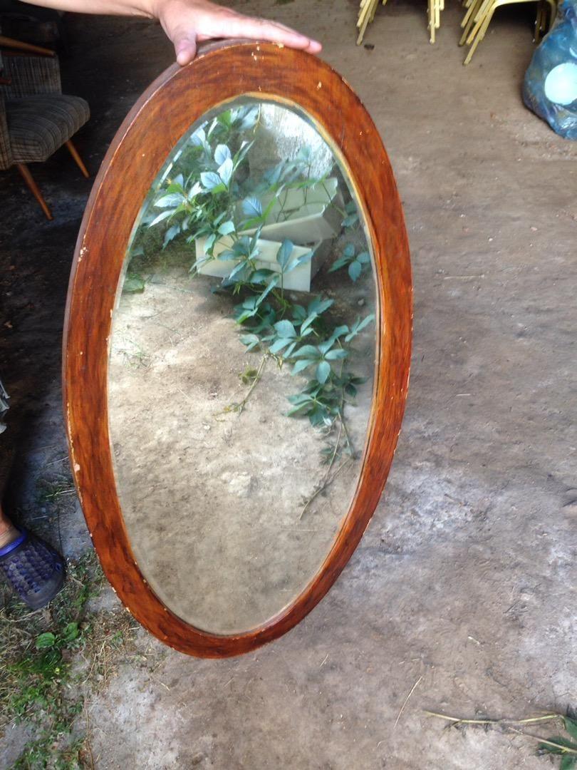 Stare ovalne zrcadlo 0