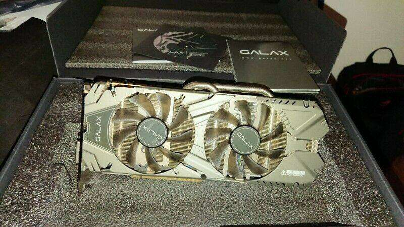 Galax GTX970 4gb EXOC Black Edition 0