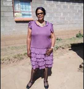 Active and experienced LESOTHO nanny/maid/cleaner needs work