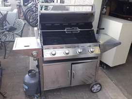 Cadac gas braai with rotisserie and gas bottle R3450