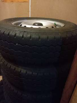 Vvti rims and tyres  life is 8mm