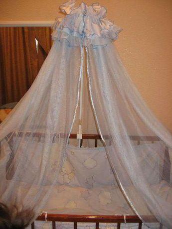 Комплект в детскую кроватку , держатель в подарок Ахтырка - изображение 5