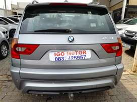 2009 BMW X3 3.0d Xdrive Automatic 99,000km R105,000