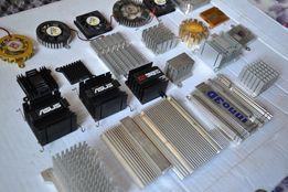 Радиаторы, охлаждение деталей, охлаждение чипа, охлаждение памяти