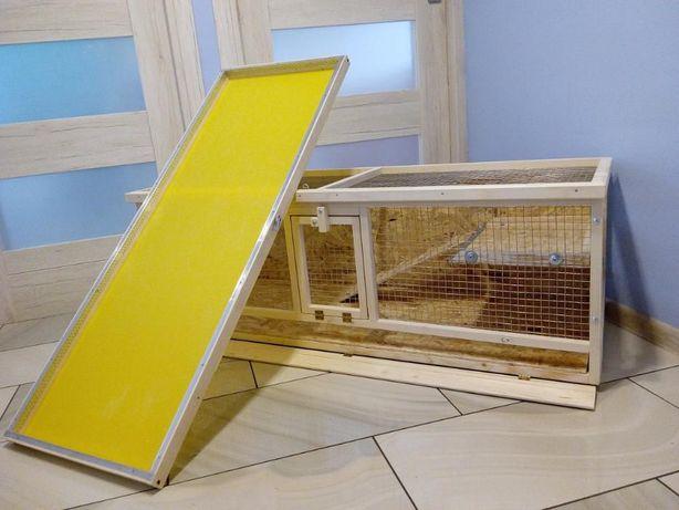 Klatka drewniana zagroda dla królika świnki morskiej. Myszków - image 6