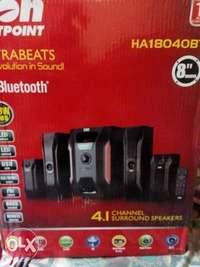 Von Hotpoint sub woofer 4.1surround speakers 0