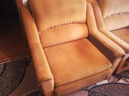 Кресло раскладное велюровое с ящиком для белья 200 см.* 75 см.