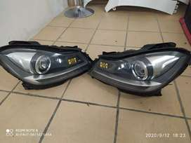 Mercedes Benz w204 headlights xenon both side
