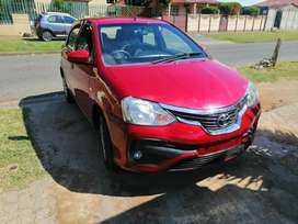 Toyota etios 2018 sprint at a giveaway price of 65000call Jimmy