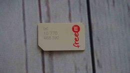 FREEM FREE M stara karta SIM karta kolekcjonerska UNIKAT