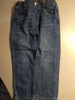 Джинсовые штаны на мальчика ТМ Chicco, на рост 98 см.