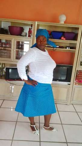 Mosotho maid,nanny,cook and cleaner needs stay in/stay out work