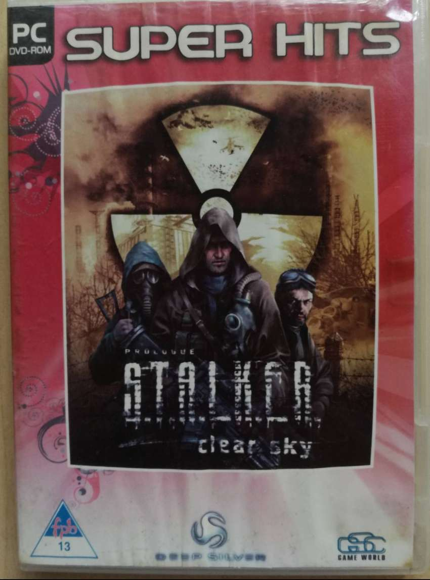 PC CD ROM GAME  PROLOGUE STALKER 'CLEAR SKY' 0