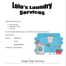 Lolo's laundry services
