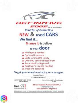 New and pre-owned cars & bakkies for sale