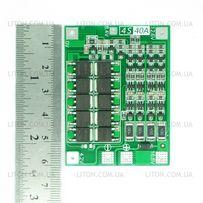 BMS 4S (40А) контроллер для Li-ion аккумуляторов 14.4V c БАЛАНСИРОМ