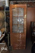 Межкомнатные двойные двери со стеклом