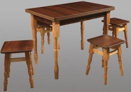 Кухонный набор (стол+4 табурета) по акционной цене! Различные цвета.