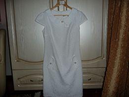 Продам новое платье летнее белое.