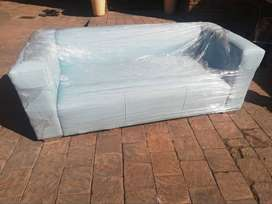 Brand new 3 seater teal blue couch