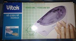 НОВЫЙ Маникюрный набор VITEK VT-2201 VT Набор для маникюра и педикюра