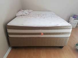 Sealy Aloe vera queen bed.. Perfect condition