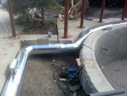 Установка систем вентиляции и кондиционирования