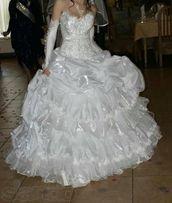 свадебное платье ,весільна сукня