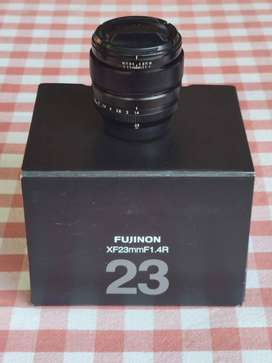 Fujifilm XF 23mm F1.4 great condition with box, caps and hood