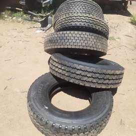 Truck tyres and rims