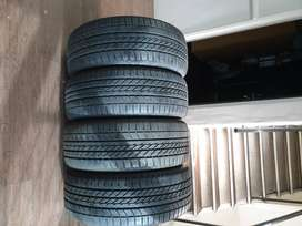 4x Goodyear Eagle F1 SUV 4x4 tyres for sale, Size: 275/45 R21