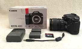 Canon 40D and lens