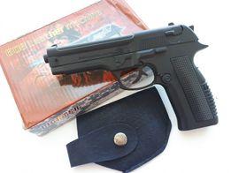 Сувенирная зажигалка пистолет Беретта