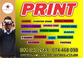 Signage, Printing, Promotion, Vehicle & Fleet Branding