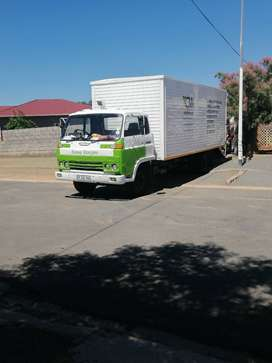 6 tonne truck from George to Cape Town on the 8th of January