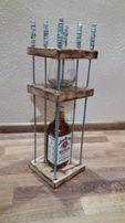 Klatka na alkohol. Oryginalny prezent, rękodzieło