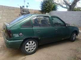 Opel kar lots of rust but motor and gearbox 100%
