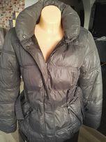 RESERVED -zimowa, puchowa kurtka damska, płaszcz- jak nowa