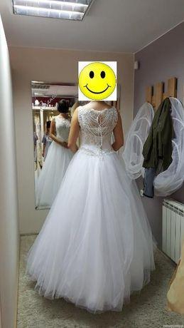 Suknia ślubna piękna ! Kępno - image 3