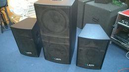 Aktywny zestaw nagłośnieniowy LEM made in Italy