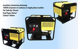 10KVA of power in 3 phase Generator(x 2)