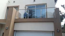 Balustrades:stainless steel,glass & mildsteel,& all structural steel