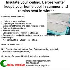 Home heat retaining and cooling