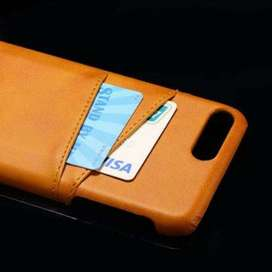 iPhone X Leather(PU) with card slot Mobile Phone Case