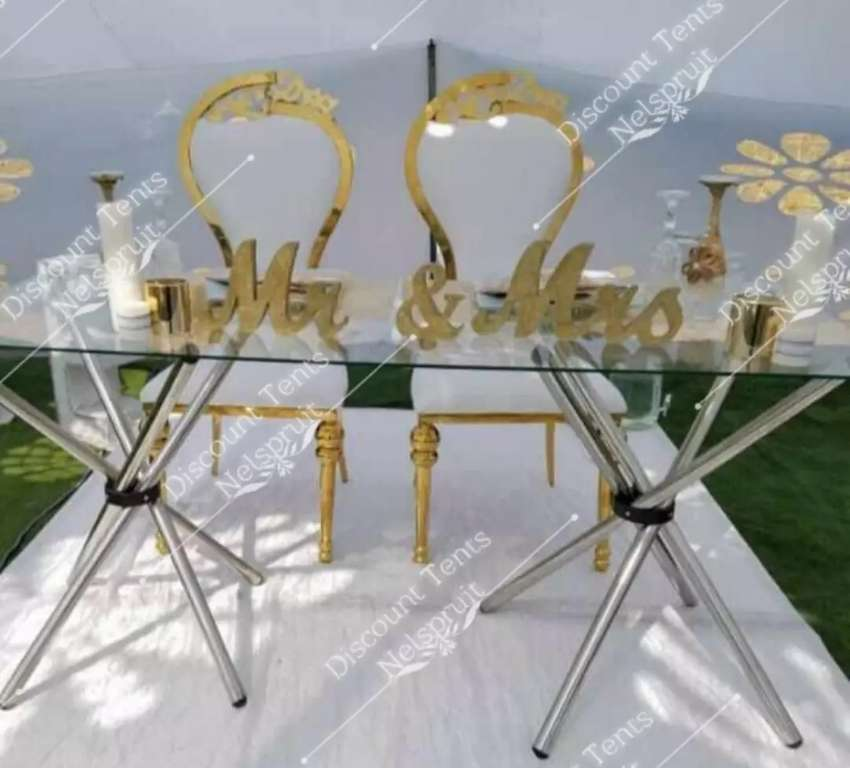 Event glass tables 0
