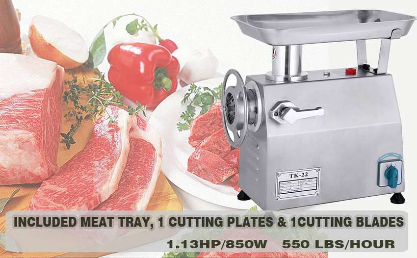 High Quality Stainless Steel Commercial  Meat grinder 250kg/h 0