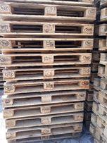 Paleta EURO jasna używana 29netto FV palety drewniane slask jasne