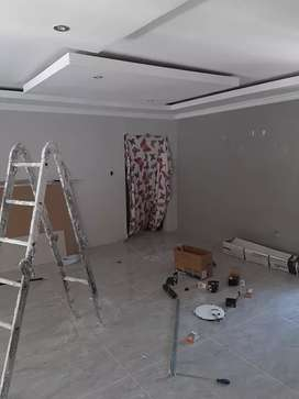 Ceilings installation professional