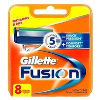 Gillette Fusion 8 шт. в уп. кассеты для бритья, оригинал, Германия